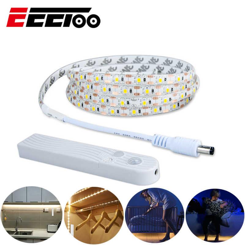 EeeToo PIR светодиодный ночник s светильник с датчиком движения светильник ing USB СВЕТОДИОДНЫЙ светильник Индукционная подсветка детская прикроватная лампа