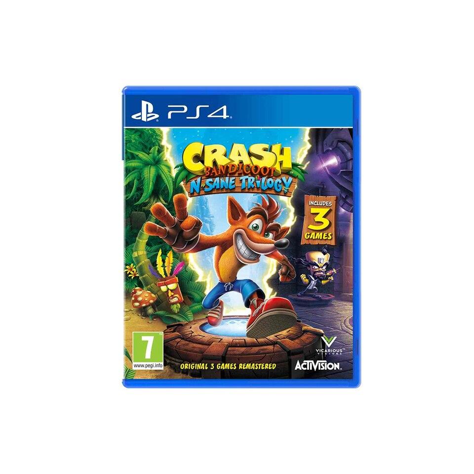 Купить со скидкой Игра Crash Bandicoot N'sane Trilogy для PS4