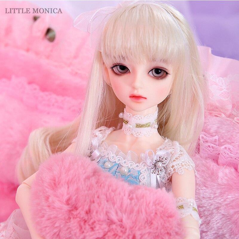 Littlemonica LM Sophia 1 4 BJD SD Resin Figure Baby Ball Joint Doll Eyes High Quality