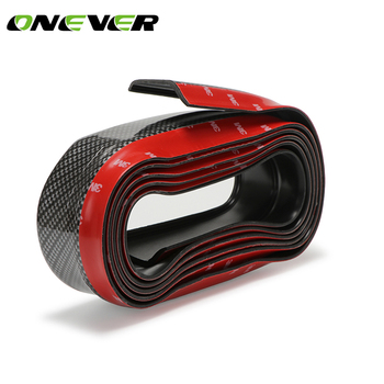 Carbon Fiber Car Bumper Lip Protector
