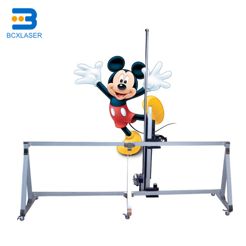 Direct To Wall Painting Machine 3D Wall Printer Machine Without Width Limit