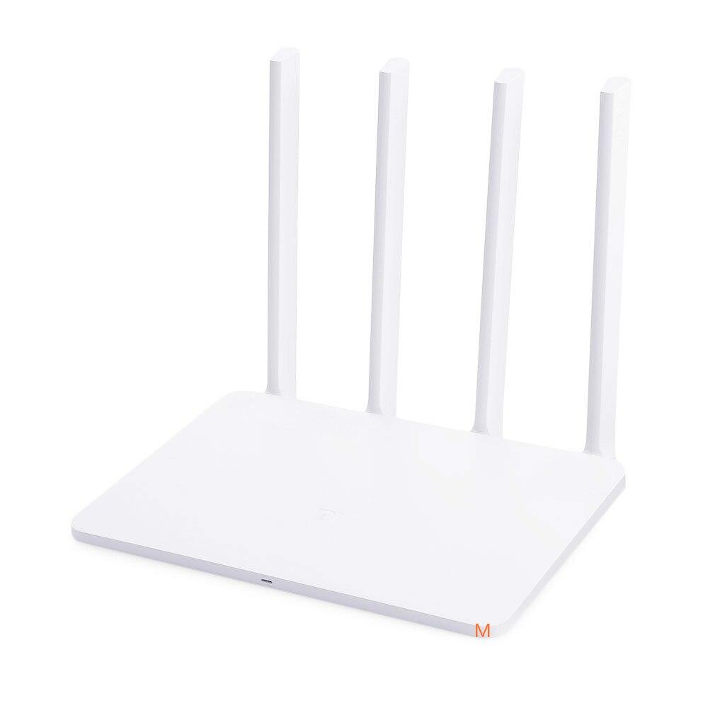 6 pièces Xiao mi Wi Fi routeur 3G 1167 Mbps 2.4 GHz 5 GHz double bande 128 mo ROM Wifi 802.11ac quatre puissantes antennes à Gain élevé