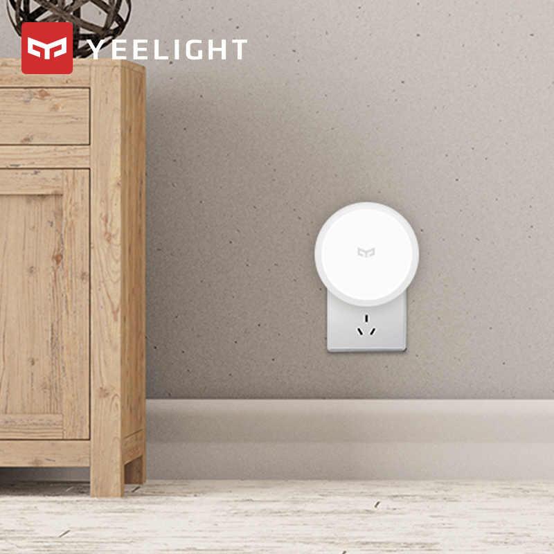 Xiaomi mijia yeelight indução luz noturna inteligente huaman boday plug sensor de movimento luz do quarto corredor wc sensor noite lâmpada