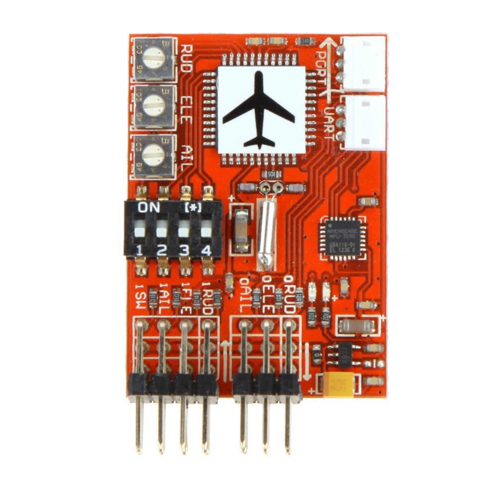 Kualitas Tinggi JCX-M6 M6 Presisi Tinggi Penerbangan Controller Digital Gyro untuk RC Fixed-Wing Pesawat V-Model Ekor pesawat Pesawat FPV