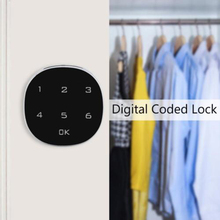 Electronic Touch Keypad Password Key Digital Security Cabinet Code Lock For Room