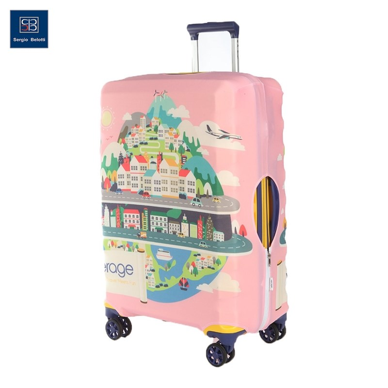 Protective cover for suitcase Verage VG5296X L original view window flip pu leather case cover for uhappy up920