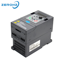380V 0.75KW 1HP Three Phase Input Output Frequency Converter Inverter  Variable Frequency Drive VFD  Motor Speed Control 3Phase