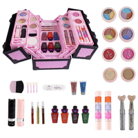 Make Up Toy Children Pretend Play Toys Little Princess Set Case Cosmetic Kid Makeup Kit Toy Safety For Girls Cosmetic Travel Box