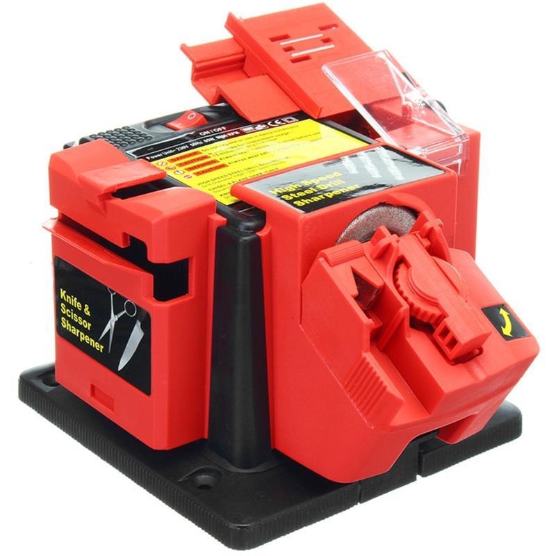 Eu Plug Multifunctionele Elektrische Huishoudelijke Slijper Tool Voor Mes Twist Boor Hss Boor Schaar Beitel Grining Tool-in Slijpers van Huis & Tuin op  Groep 1