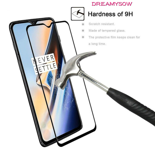 Dreamysow Tempered Glass For Oneplus 3 3T 5 5T 6 6T Full Cover 9H Protective Film Screen Protector For Oneplus A6010 A6013 film