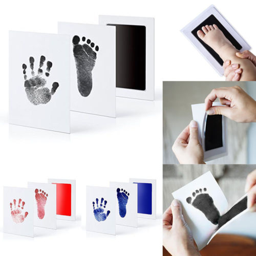 Baby Paw Print Pad Foot Photo Frame Touch Ink Pad Baby Items Souvenir Gifts