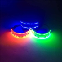 White/ Blue/ Red/ Green/ Yellow Bright LED Glasses Stage ABS Costume Decoration LED Glasses Laser Stage Party Bar Pub Supplies