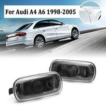 Пара автомобилей Габаритные огни заднего хода автомобиля боковые габаритные огни дыма для AUDI A4 1998-05, A6 1998 1999 2000 2001 2002-2005 8E949127