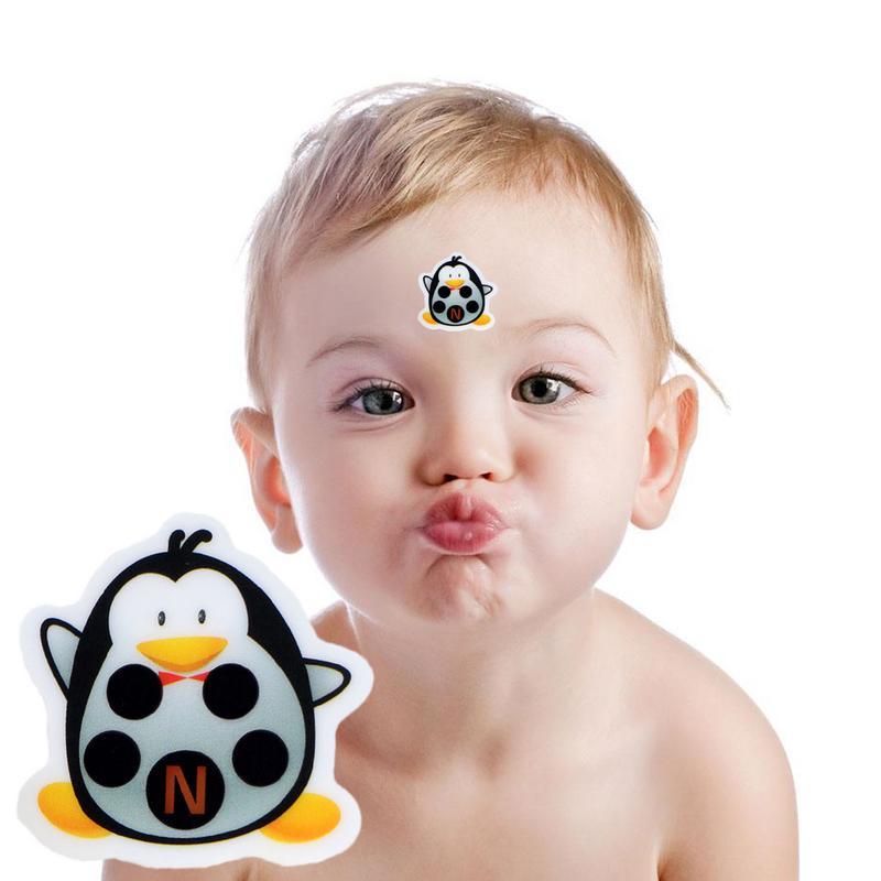 Babypflege Intellektuell Cartoon Aufkleber Lcd Stirn Thermometer Körper Fieber Thermometer Kopf Bands Kinder Sicherheit Für Kinder Kümmern Thermometer Zur Verbesserung Der Durchblutung