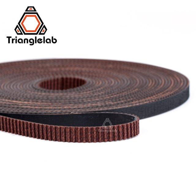 trianglelab GATES-LL-2GT 2GT belt synchronous belt GT2 Timing belt Width 6MM 9MM wear resistant  for Ender3 cr10 Anet 3D Printer 3