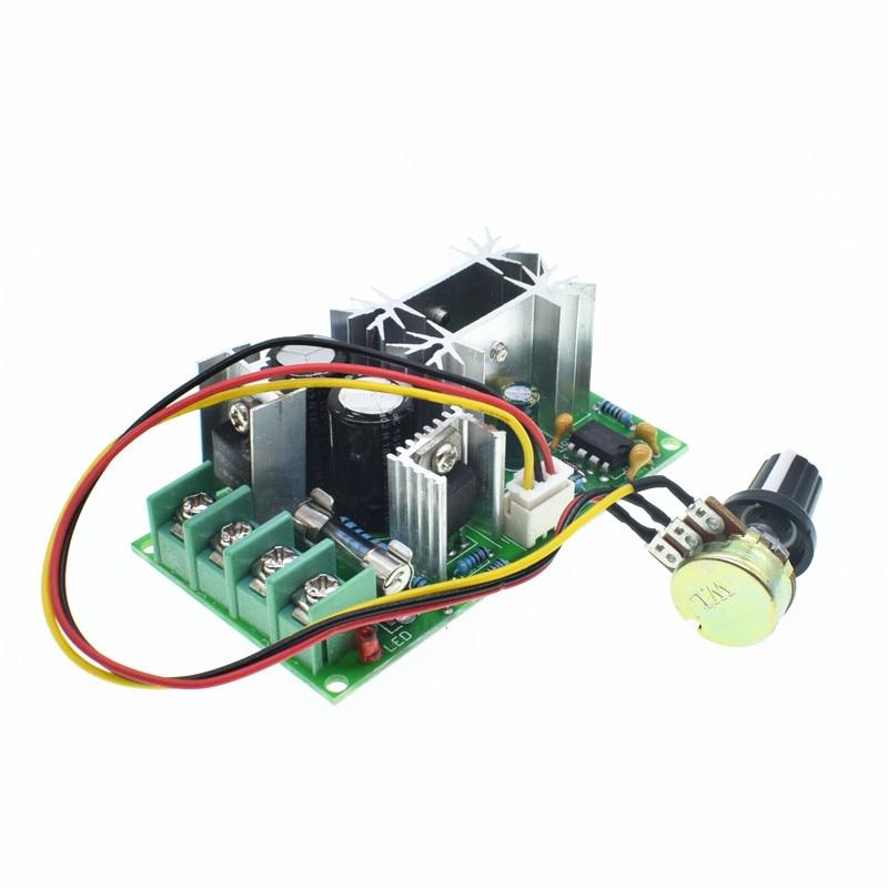 Mini Dc-dc 4.5v-35v 5a 90w Pwm Dc Motor Speed Controller Module Speed Regulator Control Adjust Board Switch 12v 24v Pn35 Electrical Equipments & Supplies