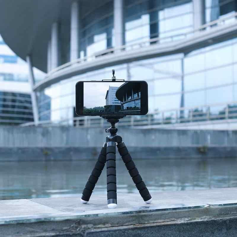 Мини клатч для телефона губка Осьминог штатив держатель монопод подставка 360 вращающаяся стойка крепление Штатив для мобильного телефона samsung sony