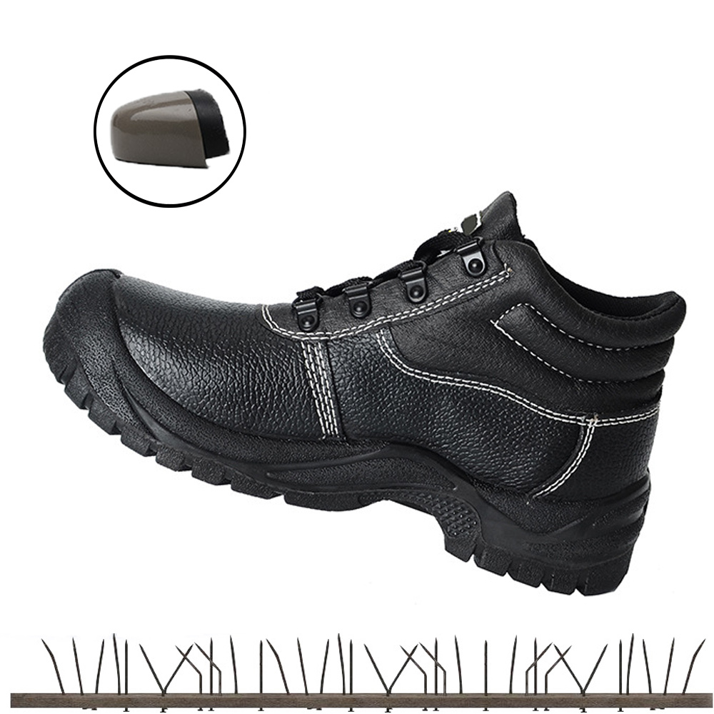 Mens Steel Toe Cap Safety Shoes For Men Work Shoes Leather Lightweight Breathable Indestructible Sneakers Anti-static 6kv ManMens Steel Toe Cap Safety Shoes For Men Work Shoes Leather Lightweight Breathable Indestructible Sneakers Anti-static 6kv Man