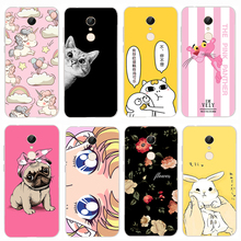 3D Cute Design Xiaomi Redmi 5 Case For Cover Dog Cat Phone Cases TPU