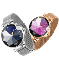 H3 Women Smart Watch Fashion Ladies Watches Female Heart Rate Monitor Blood Pressure Fitness Activity Tracker H2 H1 Smartwatch