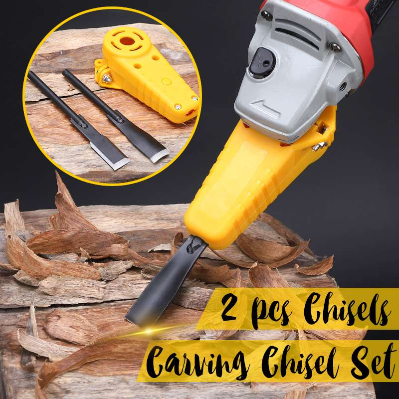 Aliexpress.com : Buy Electric Power Wood Carving Chisel Set Hand Tool Changed Angle Grinder Into