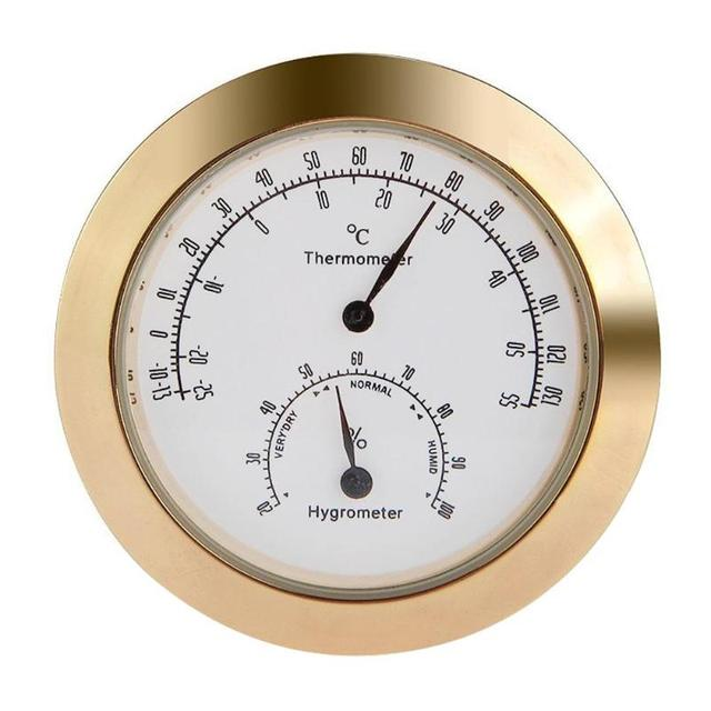 Classic Round Hygrometer for Violin