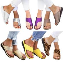 Women Platform Sandals Comfortable Summer Beach Travel Slippers Shoes For Big Toe Bone Correction Party Gifts For Guests