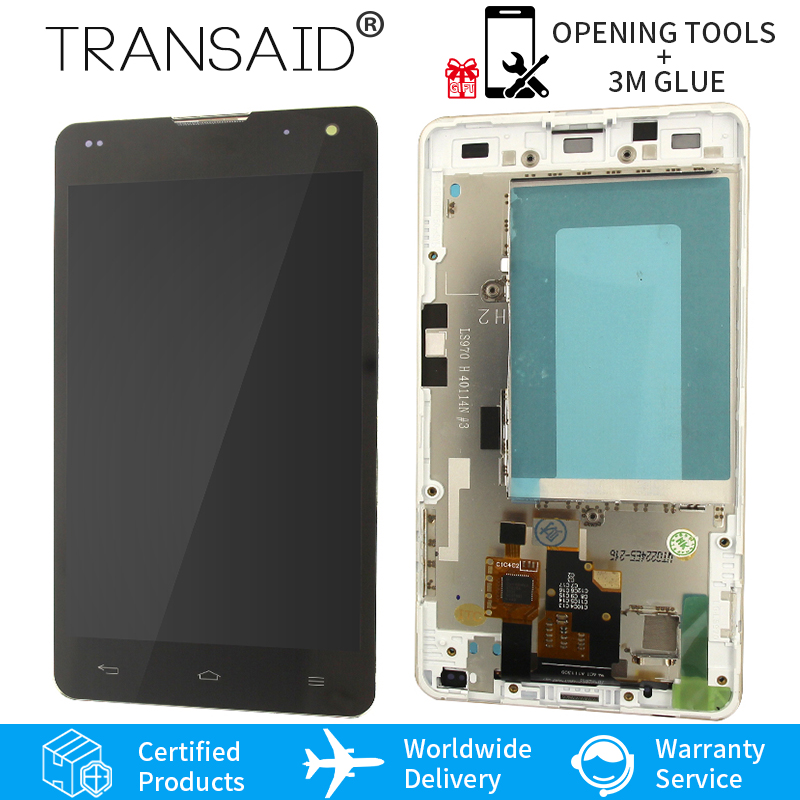 Original 4.7 Screen For LG Optimus G LS970 F180 E971 E975 E973 LCD Display TouchScreen With Frame And Tools Assembly Replacement