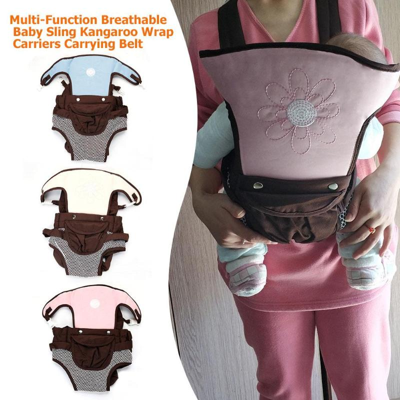 Front Facing Baby Carrier Ergonomic Carrier Backpack Hipseat For Prevent O-type Legs Baaby Sling Warp Baby Kangaroo For 0-24M