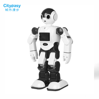 Cityeasy Voice Control Robot Intelligent Humanoid Robot Programming APP Control Security Child Education For Kits Present Gift