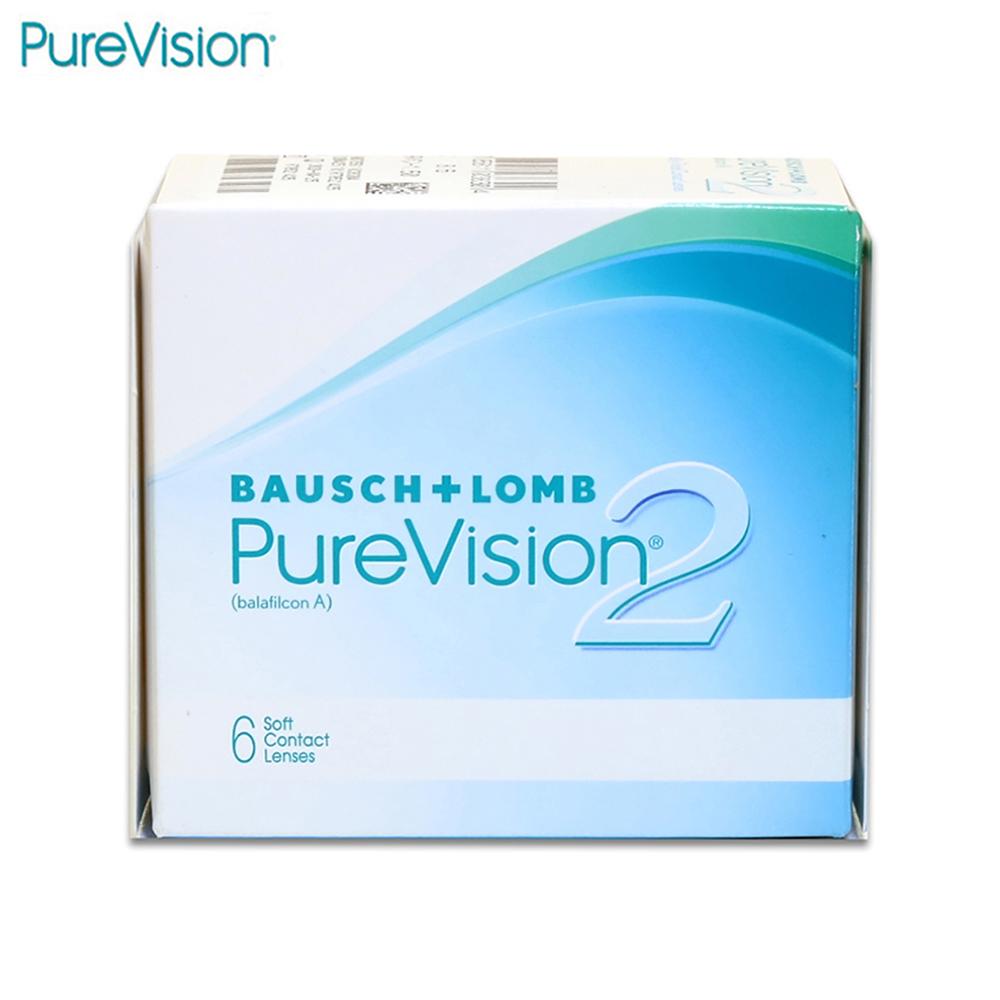 Contact Lenses PureVision 526 eye lens vision correction linsa funny round lens color block cat eye sunglasses