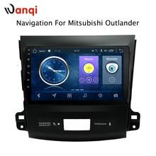 9 дюймов Android 8,1 полный сенсорный экран Автомобильная Мультимедийная система для Mitsubishi Outlander 2006-2012 Автомобильный GPS Радио Навигация