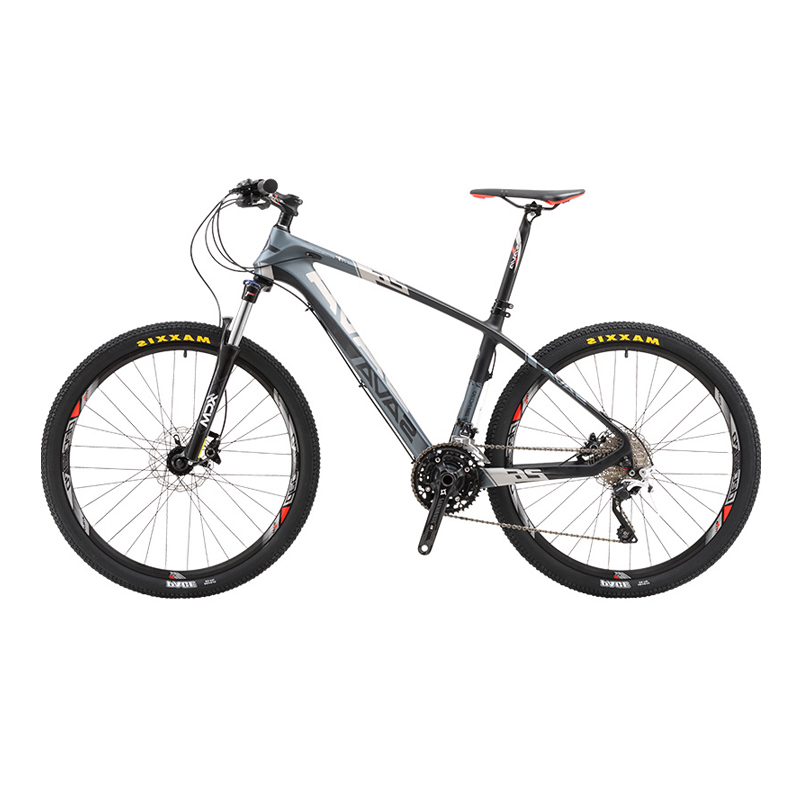 Sava Mens Mountain Bike Carbon Fiber Mountain Bike Carbon Mountainbikes Bicycle Mtb Bicycle 30 Speeds With Shimano Deore Bike