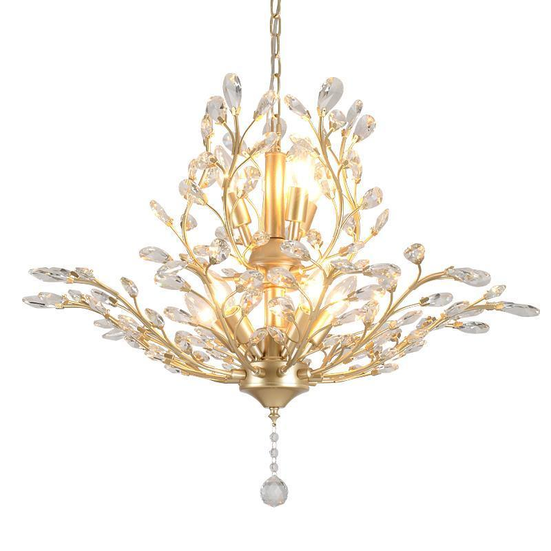 Deco Cuisine Loft Dining Room Light Crystal Modern Luminaria Luminaire Suspendu Lampara De Techo Colgante Moderna Hanging Lamp Curing Cough And Facilitating Expectoration And Relieving Hoarseness Ceiling Lights & Fans Lights & Lighting