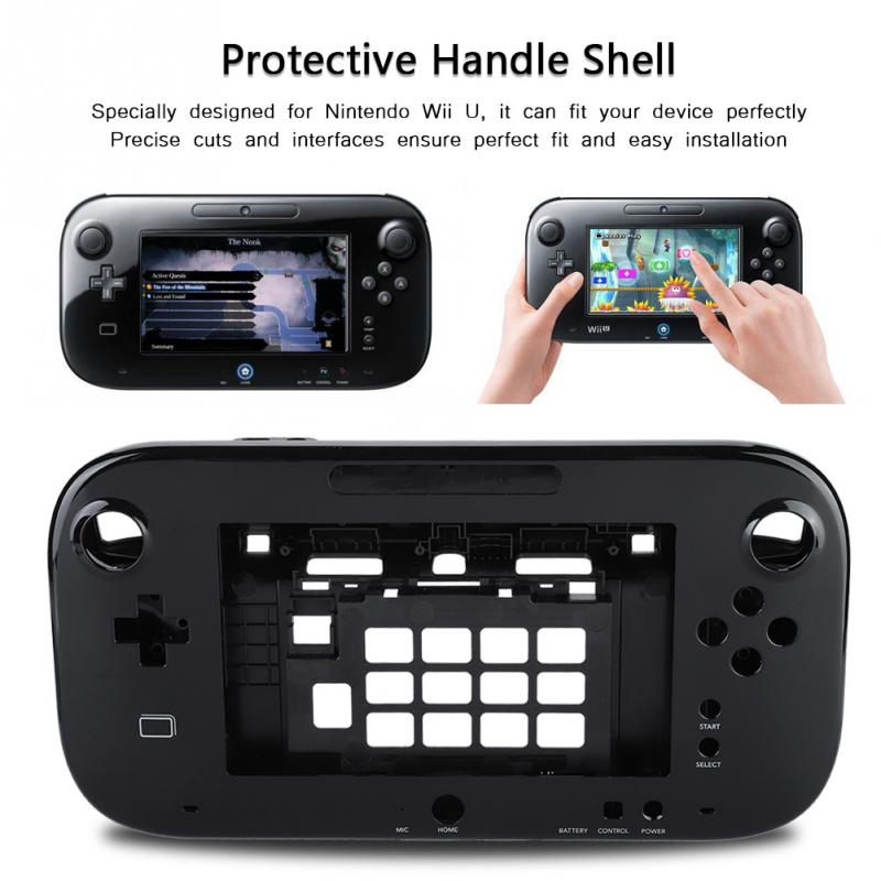Have An Inquiring Mind Protective Shell Lightweight Hard Shell Skin Cover For U Handle Gamepad Remote Controller