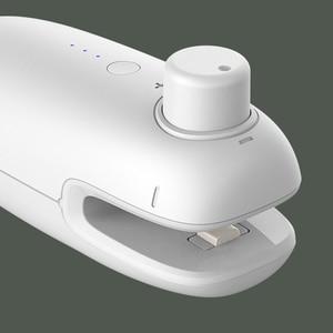 Image 3 - SANQ Usb Rechargeale портативная нагревательная машина для запечатывания пластиковых пакетов беспроводные ручные вакуумные пищевые герметики