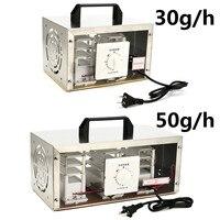 30 g/h 50 g/h 220 V generador de ozono de aire purificador de aire esterilizador ozonizador portátil esterilizador con interruptor de sincronización