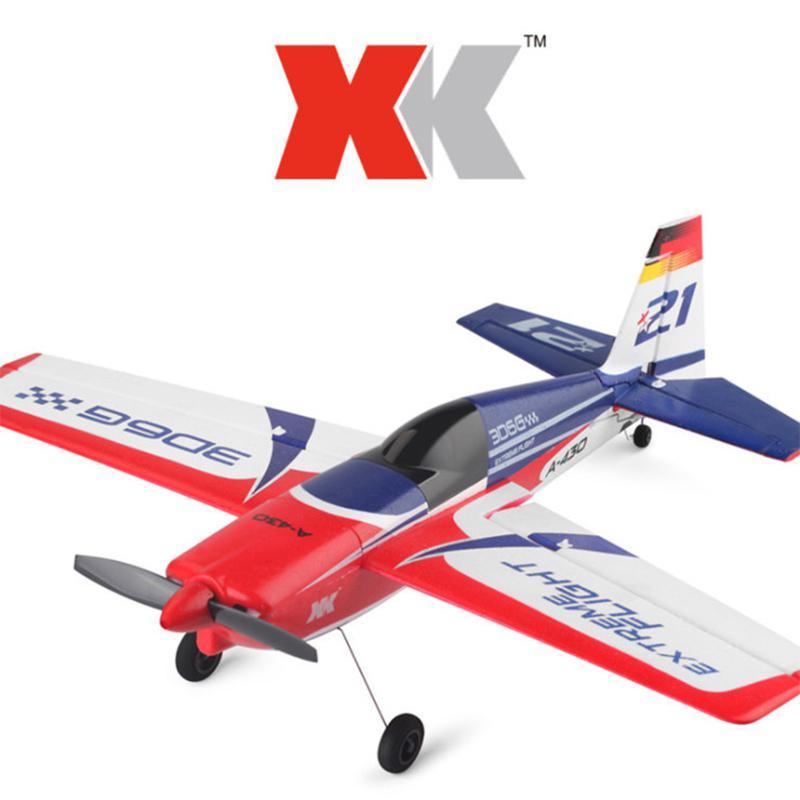 XK A430 XK A 430 Drone met 2.4G 8CH 3D6G Borstelloze Motor Afstandsbediening Dron Vliegtuig RC Vliegtuig Kinderen Verjaardag gift Kinderen Speelgoed-in RC Vliegtuigen van Speelgoed & Hobbies op  Groep 1