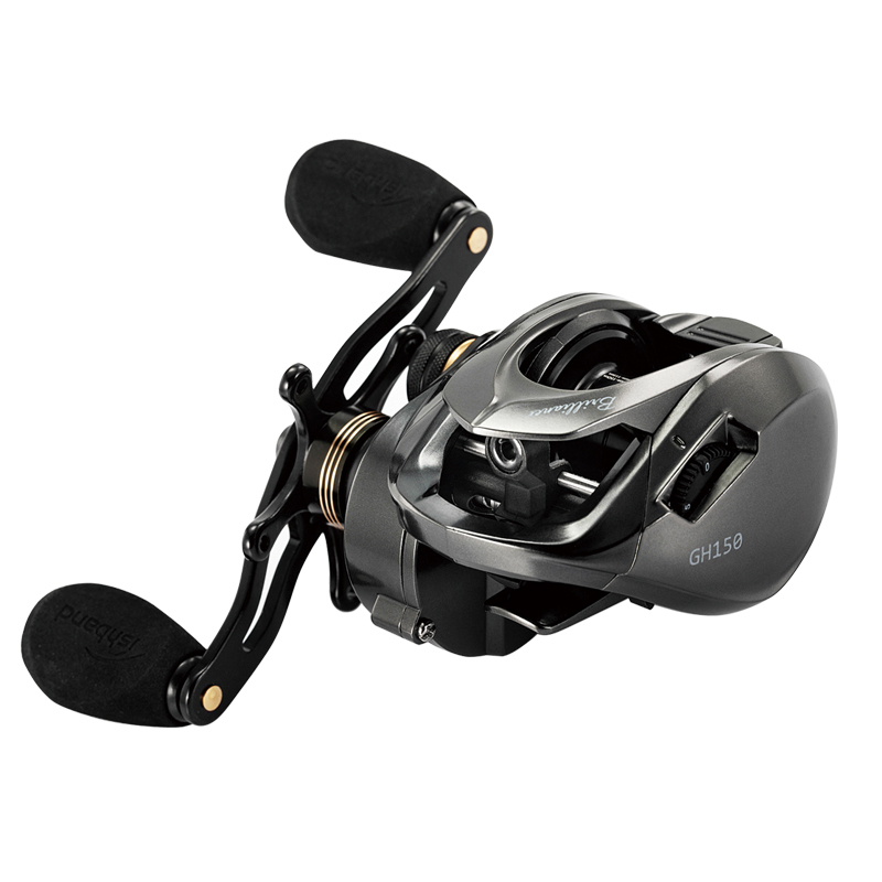 2019 NEW MADMOUSE fishband  NEW  150hg 151hg Right Left Hand Baitcasting Low profile fishing reel 11+1BB Max Drag 8kg-in Fishing Reels from Sports & Entertainment    1