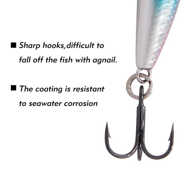TacklePRO PO-14 black Bass Quality Professional Mini Popper Fishing tackle Fresh Minnow Black Nickel Hooks  All for fishing