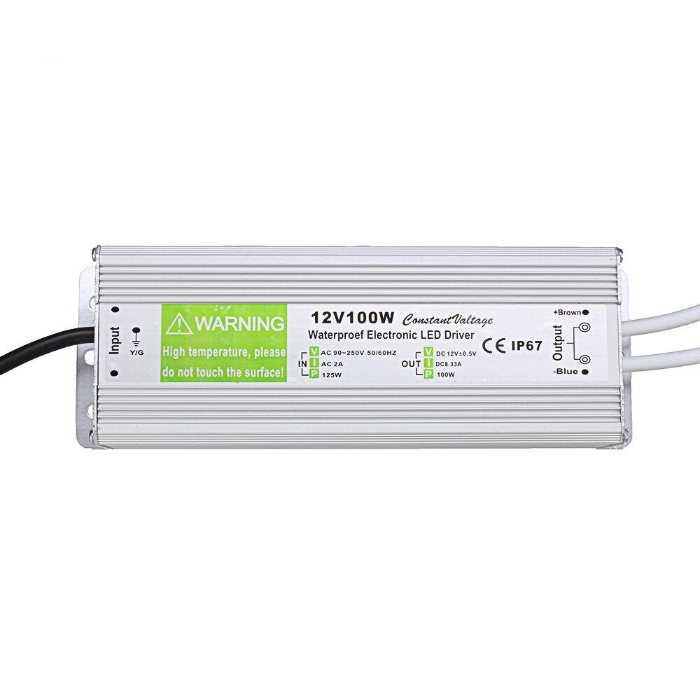 Waterproof Switching Power Supply 110V-240V 12V 100W 198*70*40mmWaterproof Switching Power Supply 110V-240V 12V 100W 198*70*40mm
