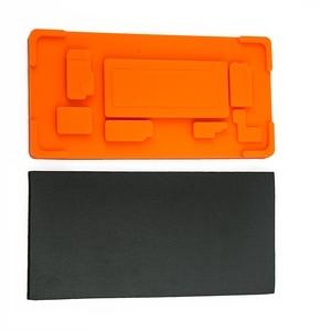 Image 4 - Tapis en caoutchouc de stratification doca décran de bord de moule dinframe pour Samsung S9 S9 Plus S8 S8Plus Note 8 9 écran tactile avec loutil moyen de cadre