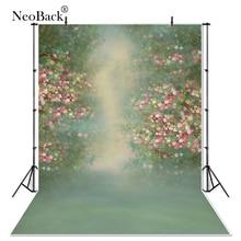 דק ויניל קלאסי סניק גן פרחוני להציג חתונה דיוקן רקע צילום צילום סטודיו מודפס תמונה רקע