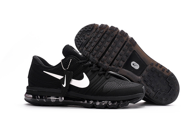 super popular b5b6b 1c223 US $63.37 8% OFF|Hot Sale NIKE Air MAX 2017 Nike Running shoes full palm  nano Disu technology Sports Men shoes hot Sneakers 40 46-in Running Shoes  ...