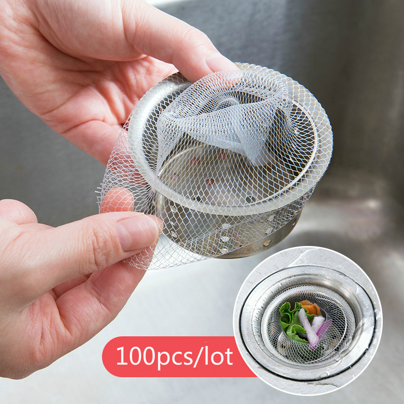 Kitchen Sink Filter Water Drain Strainer Sink Strainer Kitchen Tools Accesorios Kitchen Draining Water Stainless Steel Mesh