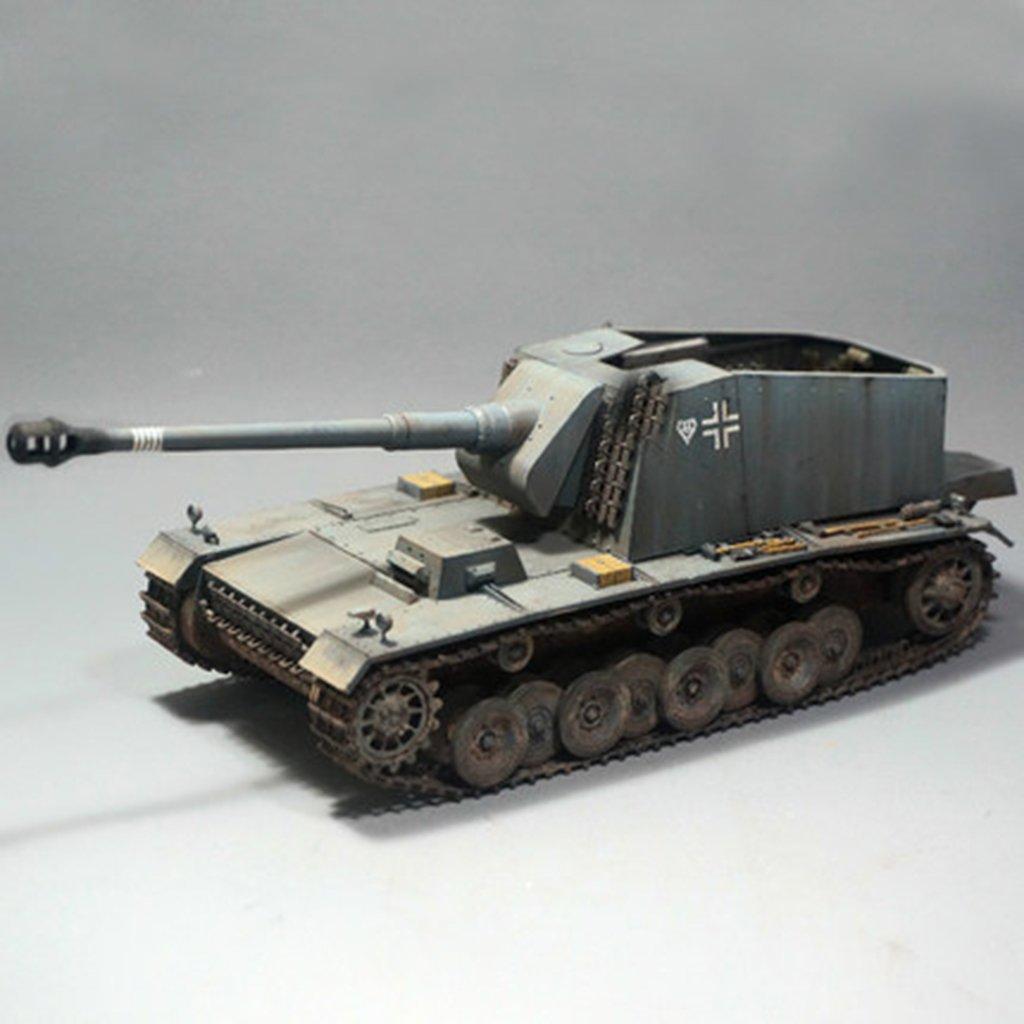 Puzzle 3D 1/35 allemand militaire réservoir modèle bricolage assemblage de collection décoration jouets éducatifs cadeau pour enfants enfant en bas âge