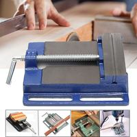 6Inch Drill Press Vise Pipe Clamping Holding 5 1/2 Throat Open Workbench Drill HD