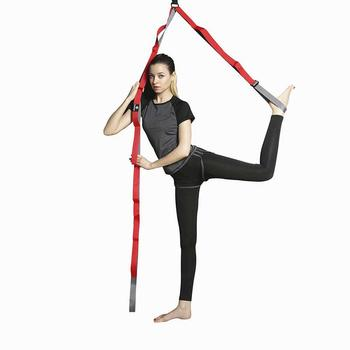 Yoga Belt Flexibility Leg Stretch Belt Door Flexibility Stretching Leg Stretcher Strap Dance Gymnastics Trainer belt