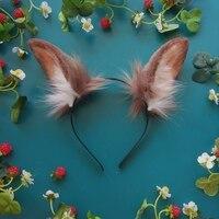 Лолита косплэй костюмы интимные аксессуары сексуальное женское белье заячьи уши головной убор ободок ручной работы для девочек для женщин