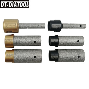 Image 1 - DT DIATOOL 1pc Dia 10/20/25mm Vacuum Brazed Diamond Finger Bits 5/8 11 or M14 Thread Milling Bits for Porcelain Marble Granite